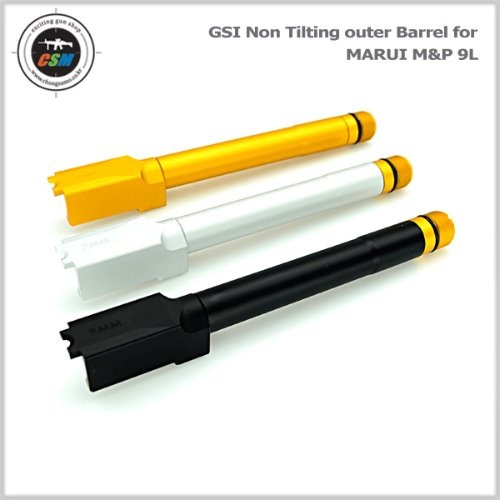 GSI사 Non Tilting Outer Barrel for MARUI M&P 9L - 색상선택