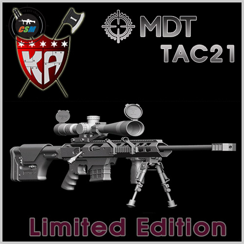 [킹암스] MDT TAC21 - BK / Limited Edition